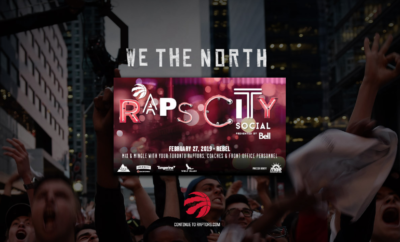 Here is the next Raptors Game!